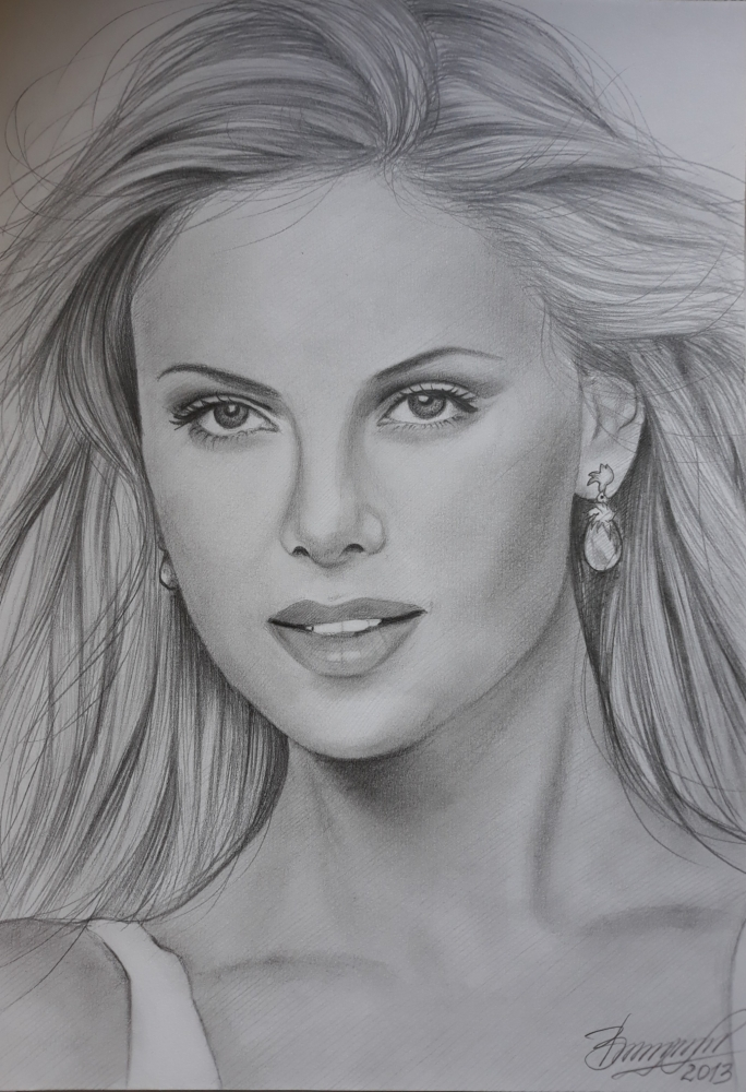 Charlize Theron by Vira